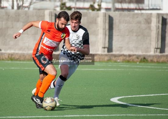 Campionato Eccellenza Girone A. Barano - Giugliano 1 - 4 foto Alessandro Ascione 058