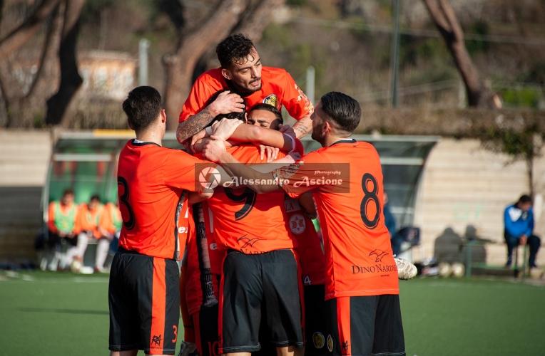 Campionato Eccellenza Girone A. Barano - Giugliano 1 - 4 foto Alessandro Ascione 156