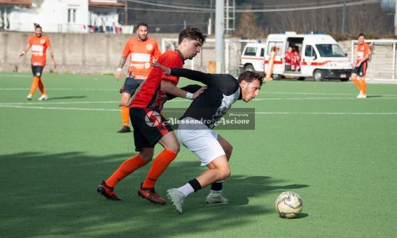 Campionato Eccellenza Girone A. Barano - Giugliano 1 - 4 foto Alessandro Ascione 039