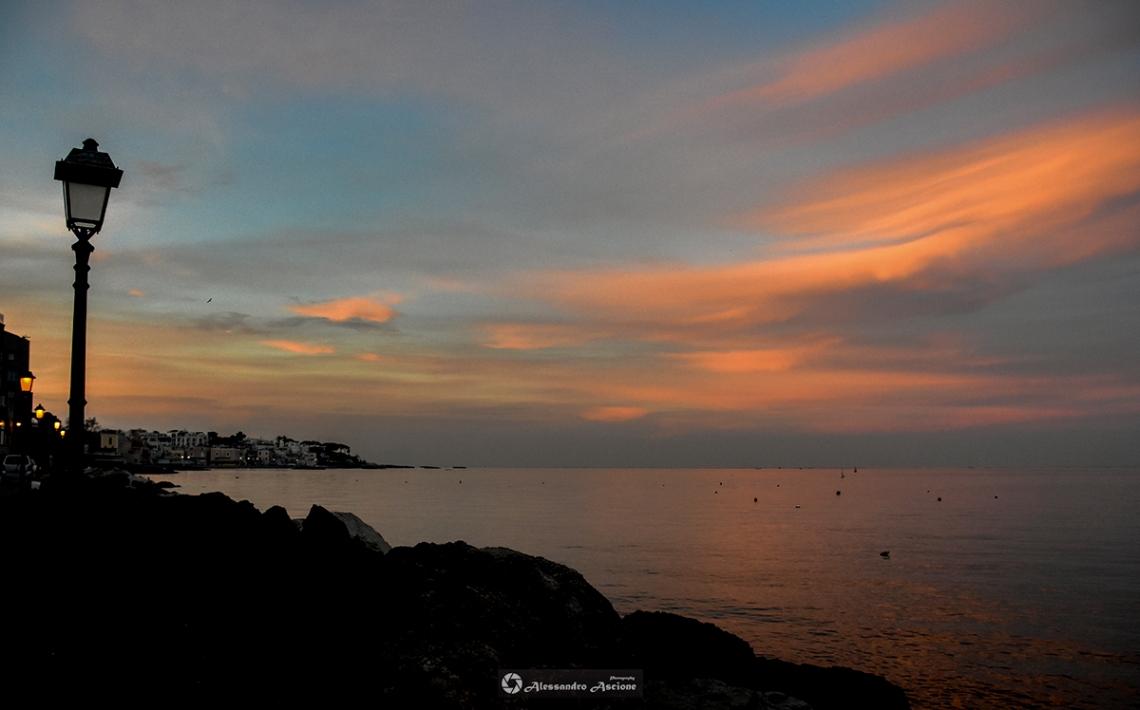 Tramonto ad Ischia Ponte - Foto by Alessandro Ascione