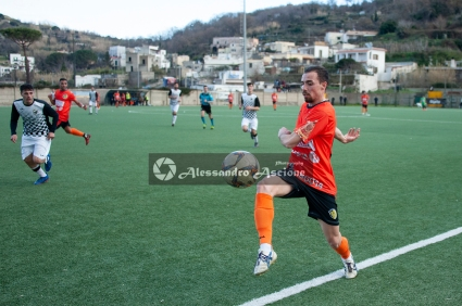 Campionato Eccellenza Girone A. Barano - Giugliano 1 - 4 foto Alessandro Ascione 187