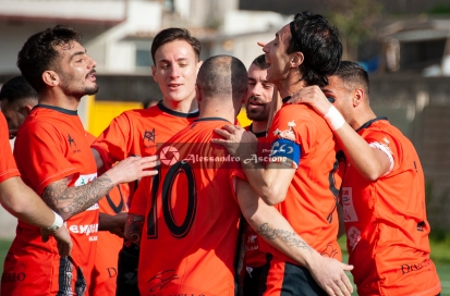Campionato Eccellenza Girone A. Barano - Giugliano 1 - 4 foto Alessandro Ascione 031