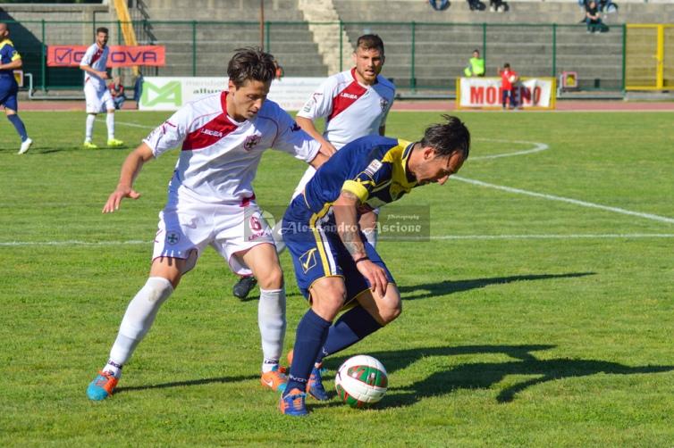 Ischia-vs-Aversa-Normanna-Playout-andata-legapro-2014-2015-foto-di-alessandro-ascione-24 ciccio millesi