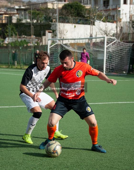 Campionato Eccellenza Girone A. Barano - Giugliano 1 - 4 foto Alessandro Ascione 046