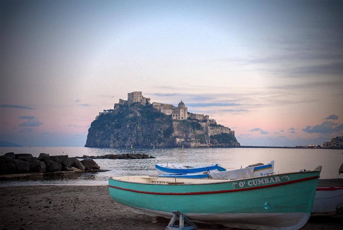 Il Castello Aragonese ad Ischia foto di Alessandro Ascione